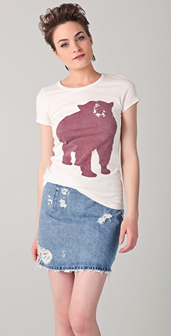 Penfield Big Bear Printed Jersey Tee