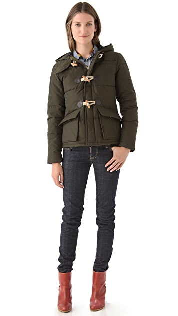 Penfield Landis Duffle Jacket with Hood