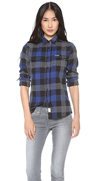 Penfield Chatham Plaid Button Down