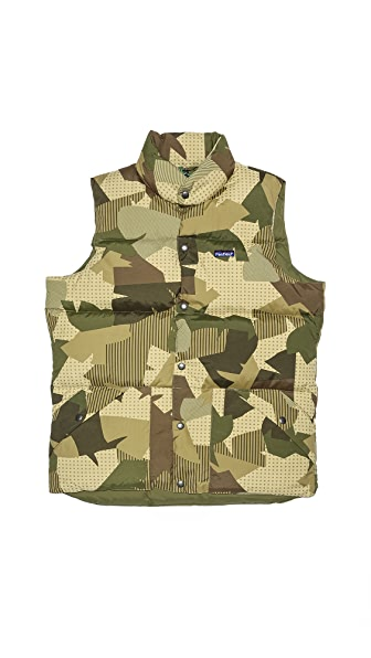Penfield Outback Camo Down Vest