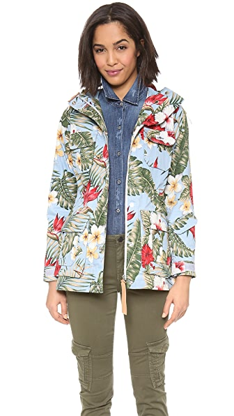 Penfield Print Weatherproof Mountain Parka