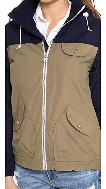 Penfield Zip Through Rain Jacket