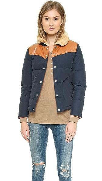 Penfield Rockwool Shearling Collar Down Jacket