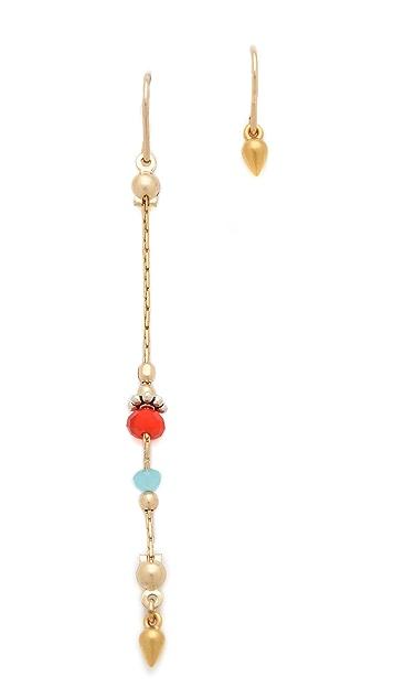 Petite Grand Long & Short Bead Earrings