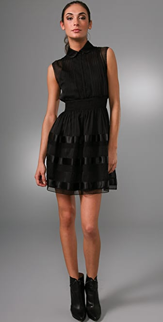 Philosophy di Lorenzo Serafini High Collar Dress