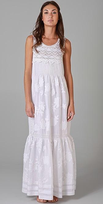 Philosophy di Lorenzo Serafini Sleeveless Dress with Lace