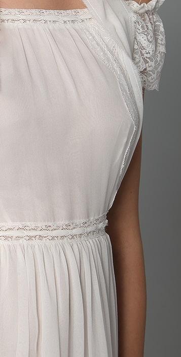 Philosophy di Lorenzo Serafini Open Shoulder Mini Dress