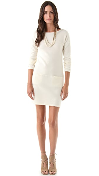 Philosophy di Lorenzo Serafini Long Sleeve Sweater Dress