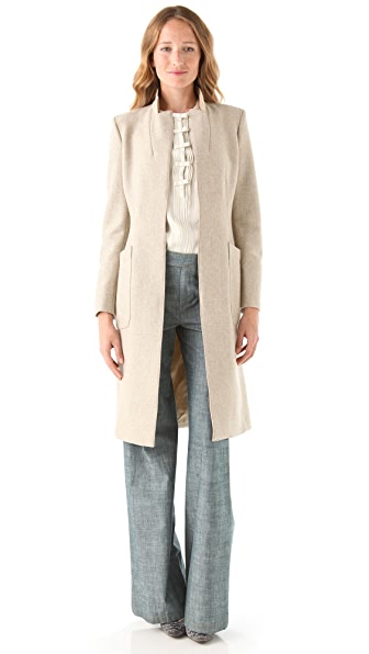 Philosophy di Lorenzo Serafini Herringbone Tweed Coat