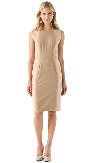 Philosophy di Lorenzo Serafini Boucle Sheath Dress