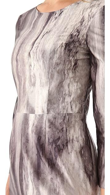 Philosophy di Lorenzo Serafini Print Crepe Dress