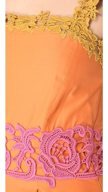 Philosophy di Lorenzo Serafini Lace Trim Shift Dress