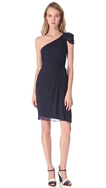Philosophy di Lorenzo Serafini One Shoulder Dress