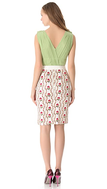 Philosophy di Lorenzo Serafini Sleeveless Key Hole Dress
