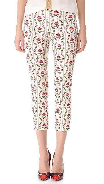 Philosophy di Lorenzo Serafini Floral Printed Pants