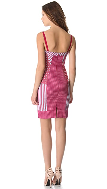 Philosophy di Lorenzo Serafini Sleeveless Striped Dress