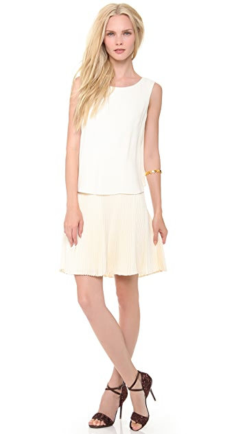 Philosophy di Lorenzo Serafini Sleeveless Pleated Dress