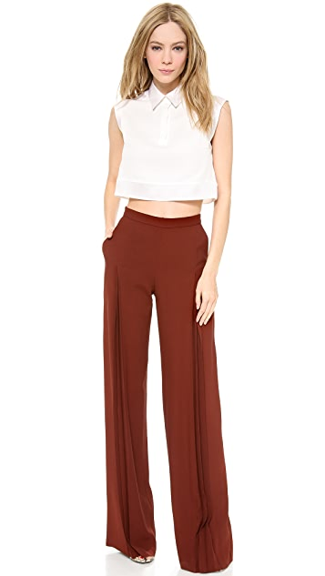 Philosophy di Lorenzo Serafini Accordion Wide Leg Pants