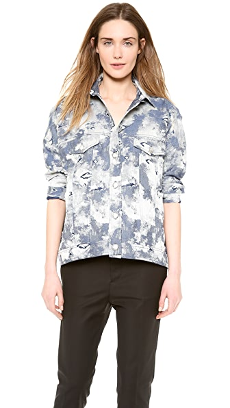 Philosophy di Lorenzo Serafini Cotton Denim Jacket
