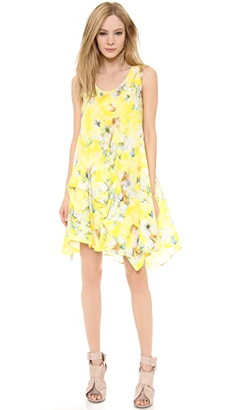 Philosophy di Lorenzo Serafini Printed Poplin Dress