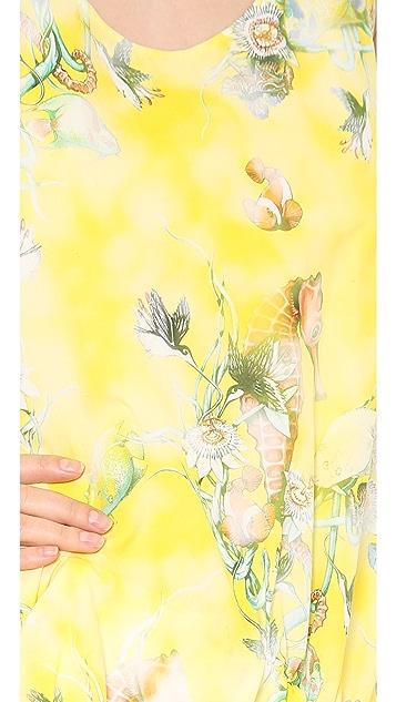 Philosophy di Lorenzo Serafini Printed Poplin Dress