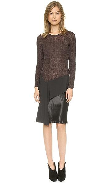 Philosophy di Lorenzo Serafini Long Sleeve Dress
