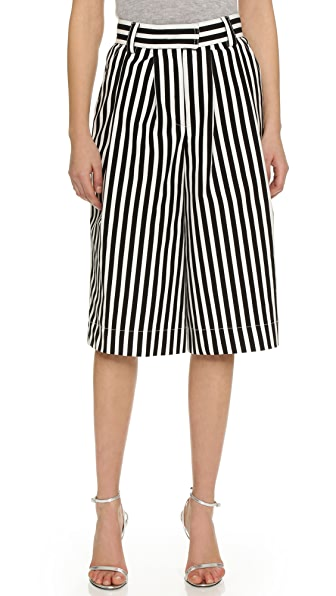 Philosophy di Lorenzo Serafini Striped Culotte Pants