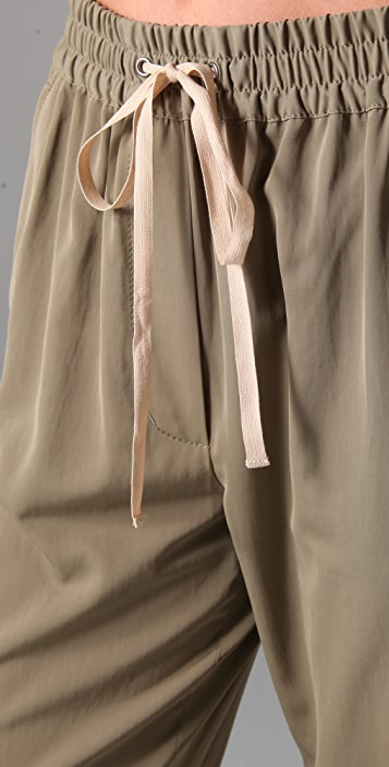 3.1 Phillip Lim Drawstring Trousers with Twist Cuffs