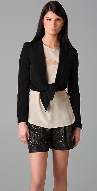 3.1 Phillip Lim Tie Front Blazer