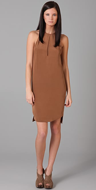 3.1 Phillip Lim Racer Dress with Illusion Back