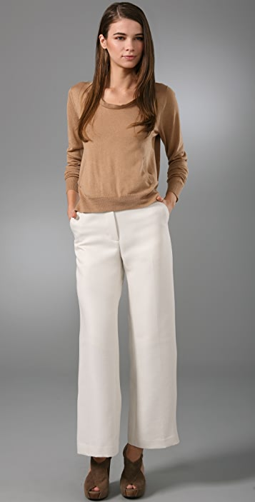 3.1 Phillip Lim Flat Front Ankle Trousers
