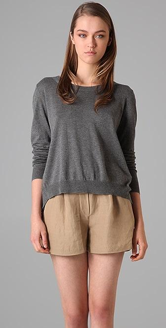 3.1 Phillip Lim Drape Back Pullover Sweater