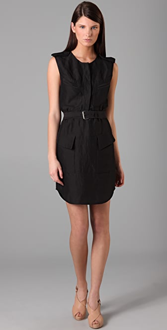 3.1 Phillip Lim Sleeveless Belted Dress