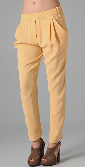 3.1 Phillip Lim Draped Tapered Trousers