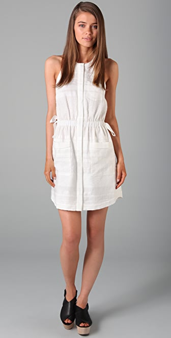 3.1 Phillip Lim Gathered Waist Shirtdress
