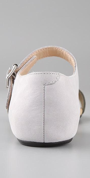 3.1 Phillip Lim Sidibe Nubuck Sandals