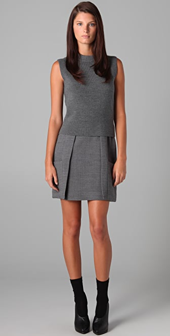3.1 Phillip Lim Sleeveless Knit Top Dress