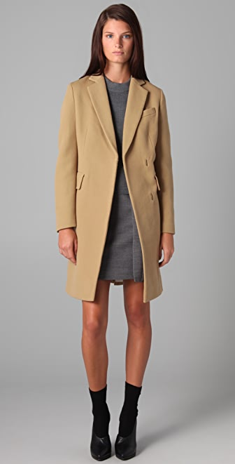 3.1 Phillip Lim Long Coat with Detachable Scarf