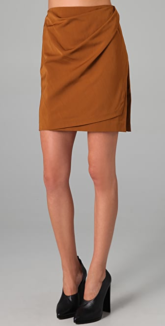 3.1 Phillip Lim Draped Wrap Skirt