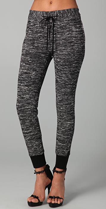 3.1 Phillip Lim Drawstring Sweatpants with Ankle Zips
