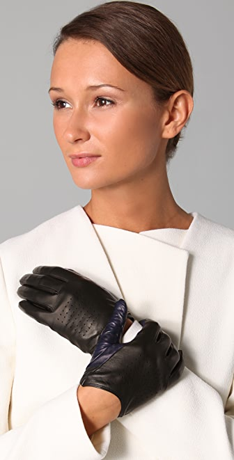 3.1 Phillip Lim Dot Driving Gloves