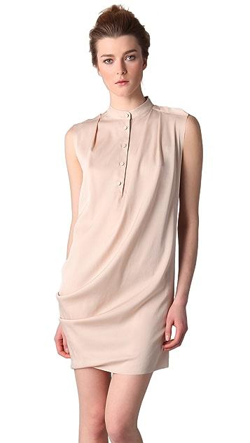 3.1 Phillip Lim Draped Front Sleeveless Dress