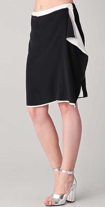 3.1 Phillip Lim Convertible Draped Culotte Shorts