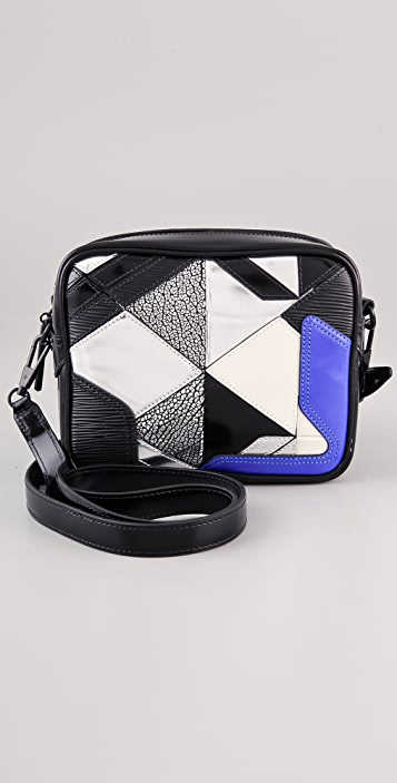 3.1 Phillip Lim Axial Patchwork Camera Bag