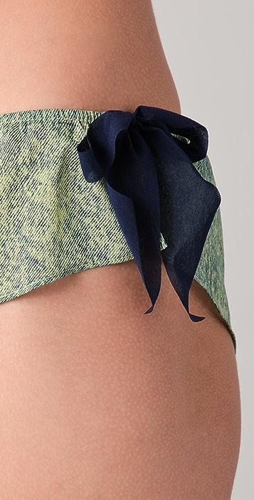 3.1 Phillip Lim Silk Bows Bikini Briefs