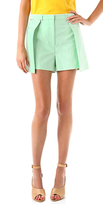 3.1 Phillip Lim Layered Shorts with Skirt Overlay