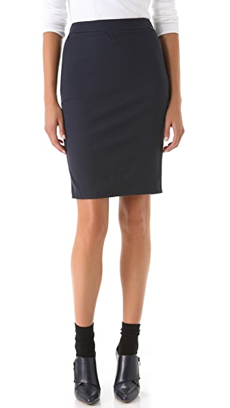 3.1 Phillip Lim Notch Pencil Skirt