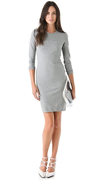 3.1 Phillip Lim Long Sleeve Notch Dress