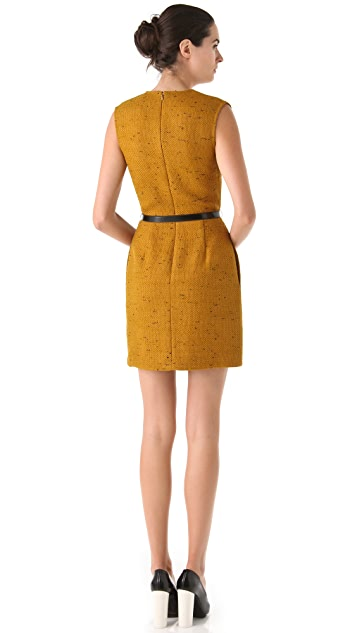 3.1 Phillip Lim Fold Dress with Belt