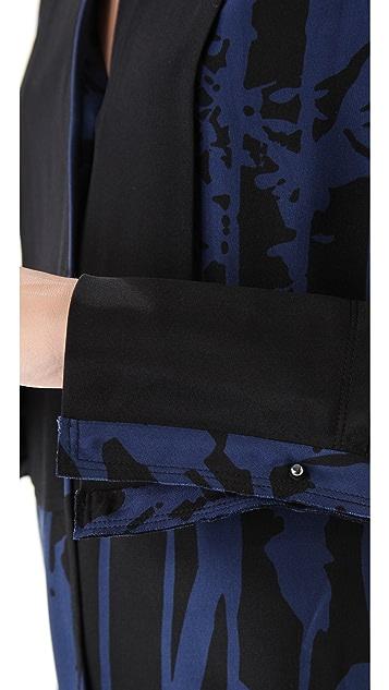 3.1 Phillip Lim Combo Tuxedo Shirt